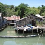 Sama-Bajau village